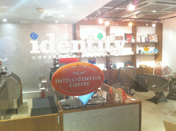 identity COFFEEBAR + GALLERY
